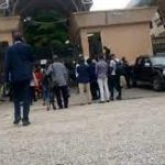 Heavy Security Presence As FG Bars Journalists From Nnamdi Kanu's Trial