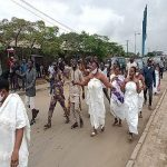 Breaking: Protests Turn Rowdy As Yoruba Traditionalists Storm Venue
