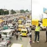 BREAKING: Lagos Commuters Stranded As Drivers Protest Alleged 'Extortion'