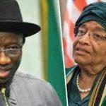 Ex-Presidents Jonathan, Sirleaf Meet Over Peace Initiatives