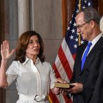Kathy Hochul Sworn In As New York's First Female Governor