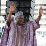 Pictures of Jonathan's declarations in Abuja