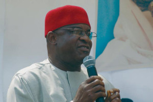 Nigeria's Senate President David Mark