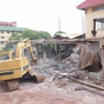 Enugu Govt Demolishes Multi-million Naira Mountain of Fire Regional Headquarters