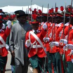 Parade/Convocation Ceremony of 60 Regular Course Cadets of the Nigerian Defence Academy (NDA) 9/14/13