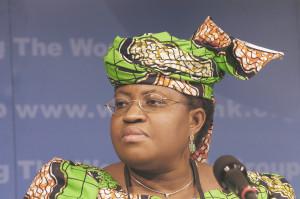 Nigeria's minister of Finance, Ngozi Okonjo-Iweala