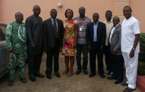 Members of the Online Publishers association at their inaugural meeting in Lagos
