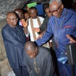 President Goodluck Jonathan Praying at Wailing Wall, Jerusalem Old City/ 25/10/13