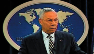 Former US Secretary of State, General Collin Powell