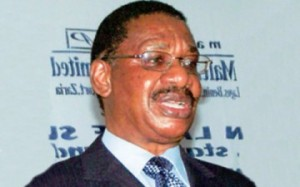 Constitutional Lawyer Prof. Itse Sagay