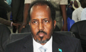 Hassan Sheikh Mohamoud Somalia, President