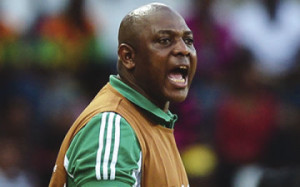 Super Eagles coach, Stephen Keshi