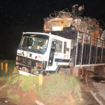 Another Truck Escorted by Police Crashes Into Festac Link Bridge Green Zone