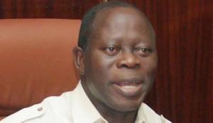 Edo state governor Adams Oshiomhole