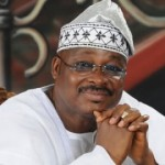 Ajimobi Sworn in New Commissioners, Olubadan Son Gets Ministry of Information