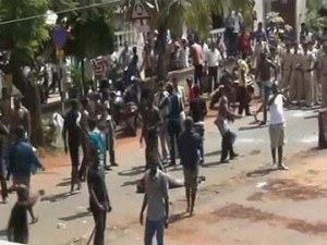Nigerians protest in Goa over the death of a fellow national