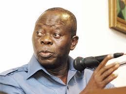 Edo state governor Adam Oshiomhole