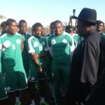 Jonathan Attends Eagles Training In Addis Ababa